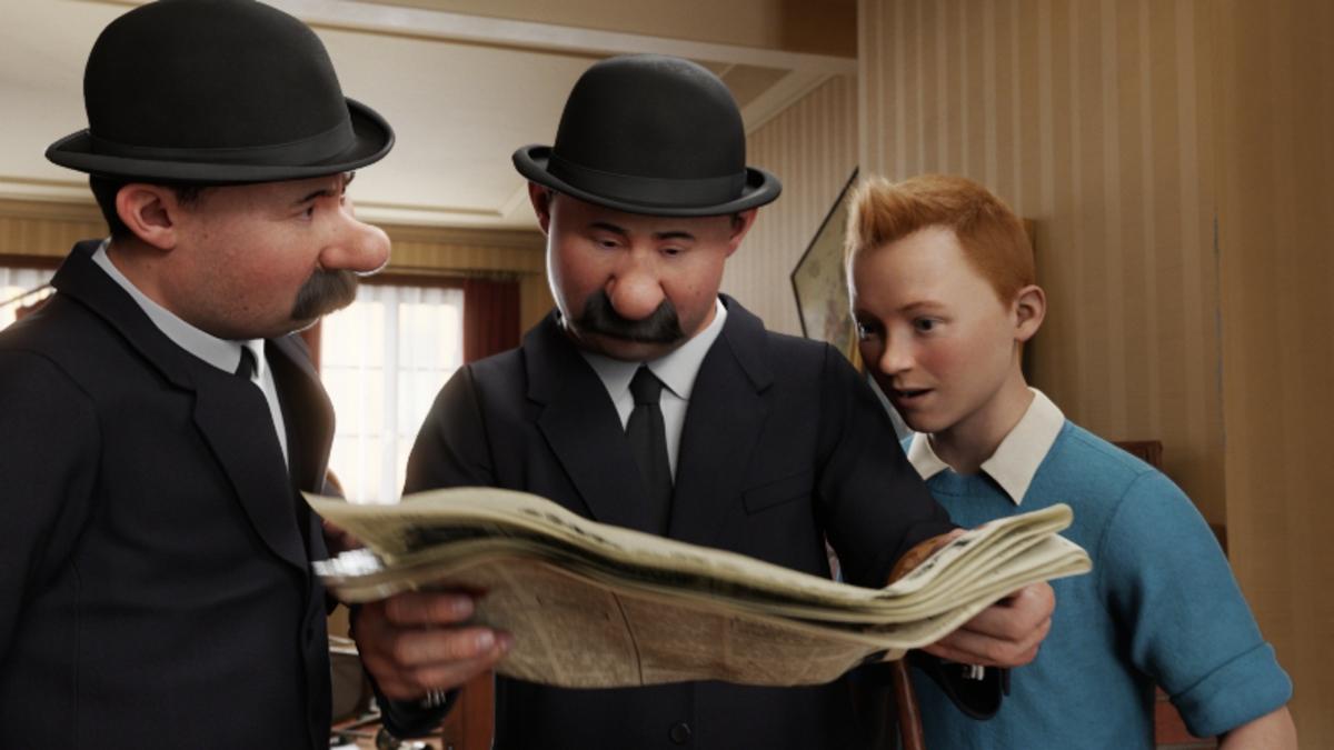 Svenska Rosterna Till Tintin Moviezine
