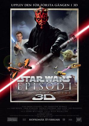 Star Wars: Episod I - Det mörka hotet poster