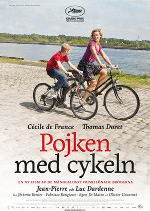 Pojken med cykeln poster