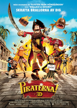 Piraterna! poster