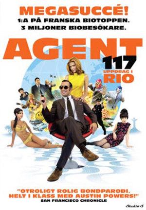 Agent 117 - Uppdrag i Rio poster