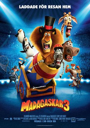 Madagaskar 3 poster
