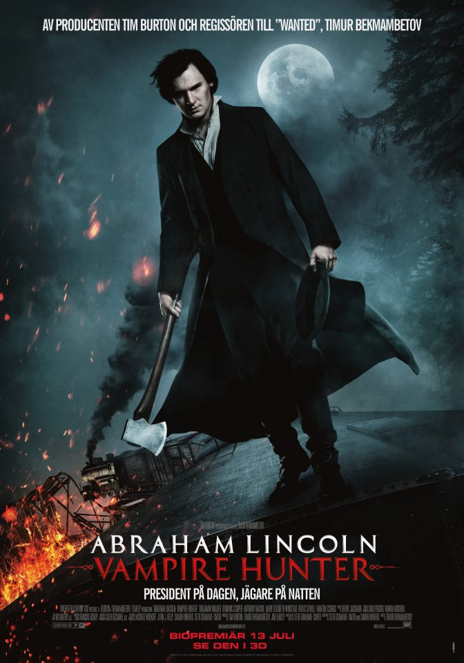 Abraham Lincoln Vampirjäger Besetzung