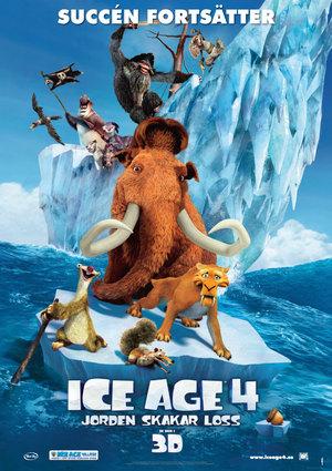 Ice Age 4: Jorden skakar loss poster