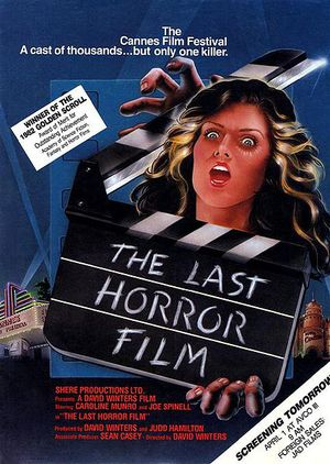 The Last Horror Film poster