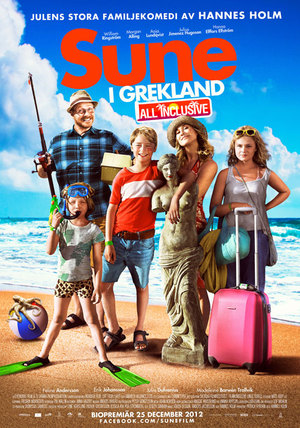 Sune i Grekland - All Inclusive poster