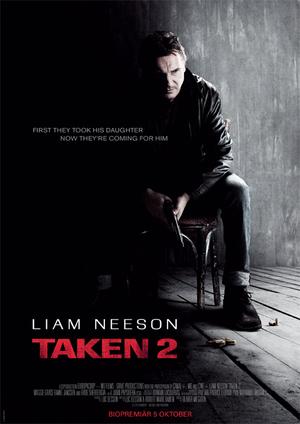 Taken 2 poster