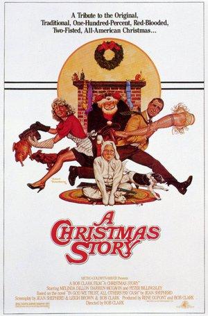 En julberättelse poster