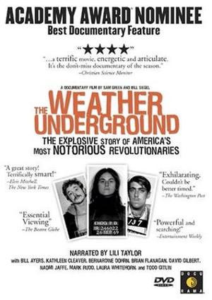 The Weather Underground poster