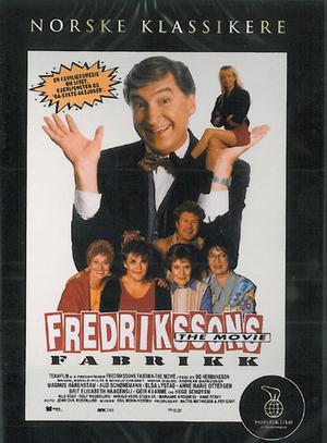 Fredrikssons fabrik poster