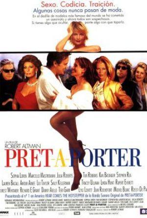 Pret-a-porter - Den nakna sanningen poster