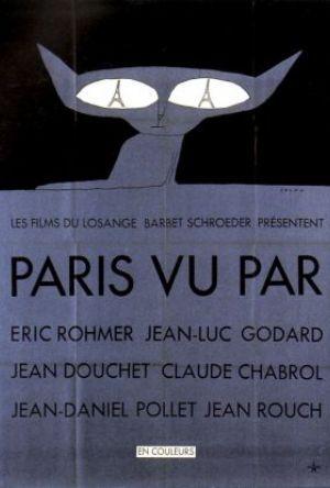 Sex ser på Paris poster