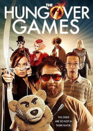 The Hungover Games poster