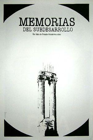 Memories of Underdevelopment poster