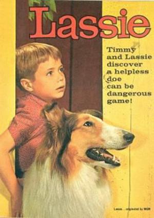 Lassie poster