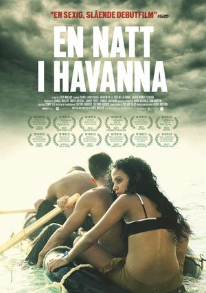 En natt i Havanna poster
