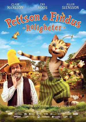 Pettson & Findus - Roligheter poster